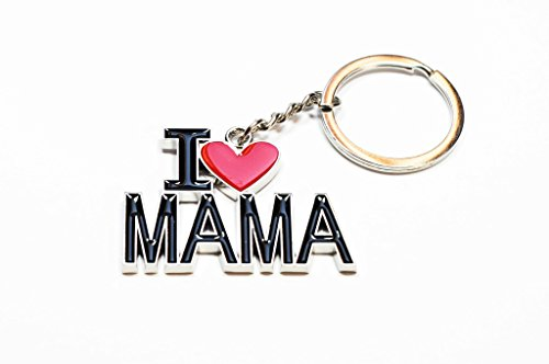 Schlüsselanhänger I Love Mama   Geschenk für Frauen   Damen   Mom   Liebe   Mutter