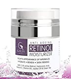 Retinol Moisturizer Anti Aging <span class='highlight'>Cream</span> <span class='highlight'>for</span> <span class='highlight'>Face</span> and Eye Area - With 2.5% Active Retinol -Hyaluronic Acid - Vitamin E - Reduce Appearance of Wrinkles and Fine lines - Best Day and Night <span class='highlight'>Face</span> <span class='highlight'>Cream</span>
