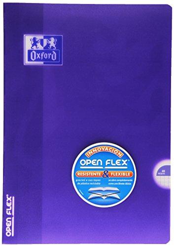 Oxford Openflex - Libreta, A4, 48 hojas, cuadrícula 5 x 5 mm
