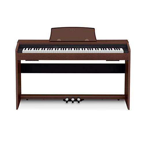 Casio PX-770 BN Privia Digital Home Piano, Marrón