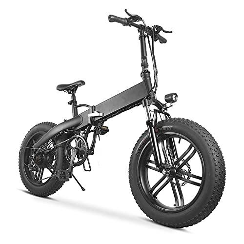 Bicicleta eléctrica de 500 W Fat Bike, bicicleta de montaña, bicicleta de...