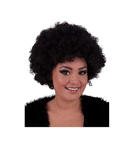 Perruque afro disco adulte - Taille Unique