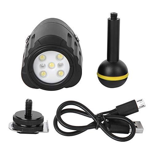 DyAn Buceo 40m De Profundidad Impermeable LED Luz De Relleno Fotografía Cámara Disparo Accesorio SL-18