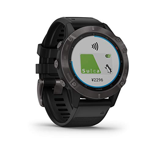 GARMIN(ガーミン)fenix6SapphireBlack音楽再生機能マルチスポーツ型GPSウォッチ最大13日間稼働【日本正規品】