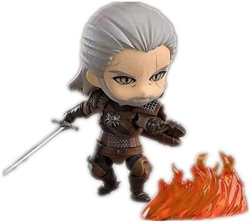De Handmade The Witcher Figura Geralt Figura Figura de acción Figura Chibi