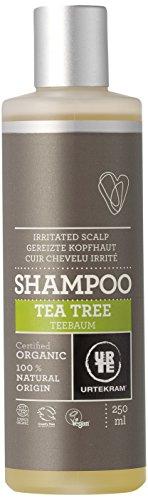 Urtekram Teebaum Shampoo Bio, gereizte Kopfhaut, 250 ml