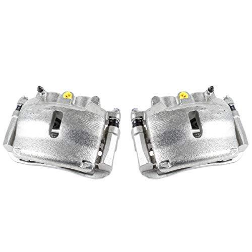 Callahan CCK11569 [2] FRONT [ 2WD 4WD ] Premium Grade OE Semi-Loaded Caliper Assembly Pair Set