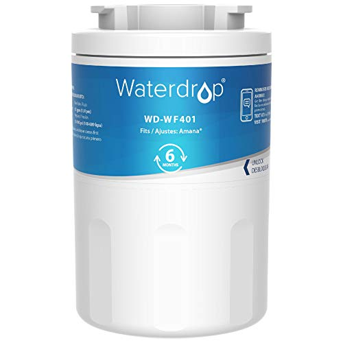 Waterdrop WF401 Refrigerator Water Filter, Replacement for Amana Clean N Clear WF401, WF40, 12527304, 46-9014, 469014