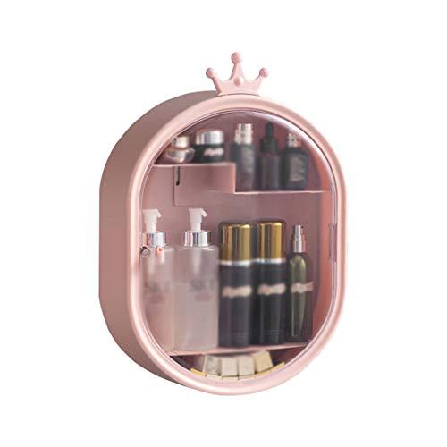 Nvshiyk Maquillage des boîtes de Rangement Boîte cosmétique Murale Grande capacité Cosmétique Rack sans perfectionnée et résistant à la poussière pour Meuble-lavabo et comptoir