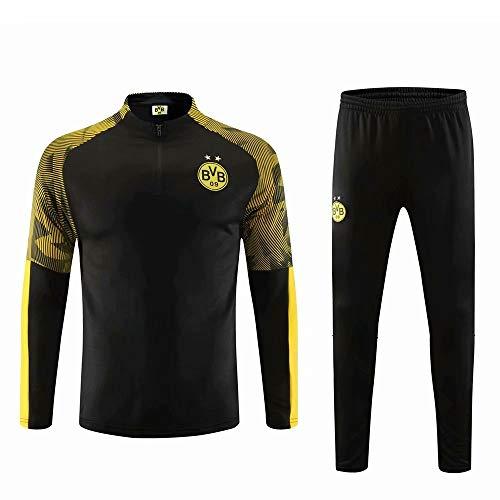 RichWeathy 2019-2020 Benutzerdefinierte Fußball Jersey Jacken Trainingsanzug Langarm Jacken Mantel und Hosen Kits für Herren Erwachsene Kinder Jungen Unisex Geschenke