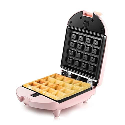 STRAW Mini sandwichera eléctrica Hierro Máquina Panini Hornear el Pastel de Horno de Pan Desayuno del Mollete Tostadora