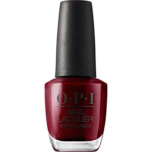 OPI Nail Polish, Nail Lacquer, I'm Not Really a Waitress, Red, 0.5 Fl Oz