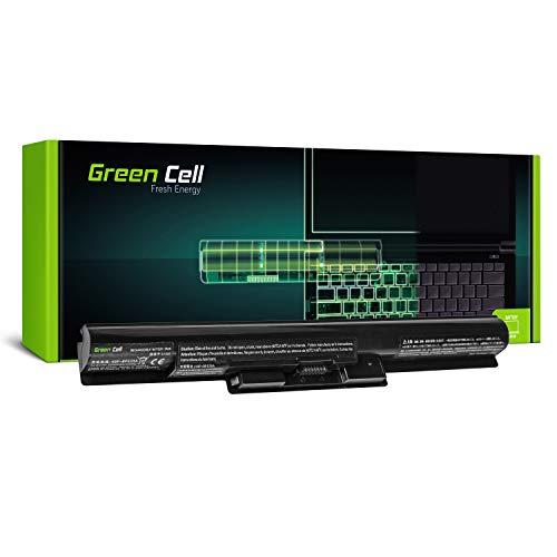 GC® Laptop Akku für Sony Vaio SVF1521A1E SVF1521A1EB SVF1521A1EW SVF1521A2E SVF1521A2EB (2200mAh 14.8V Schwarz)