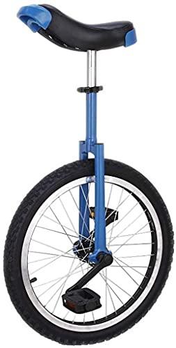 Bicicleta de equilibrio, monociclo ajustable Entrenador de rueda de bicicleta acrobática Equilibrio Ciclismo Ejercicio Neumático antideslizante Llanta de aleación de aluminio con soporte para princi