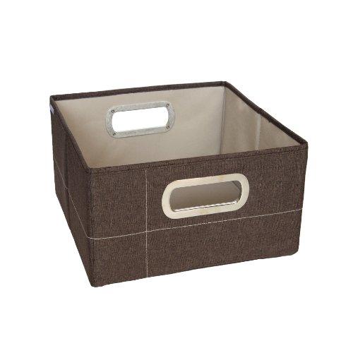 JJ Cole Heather Storage Box, Cocoa, 6.5