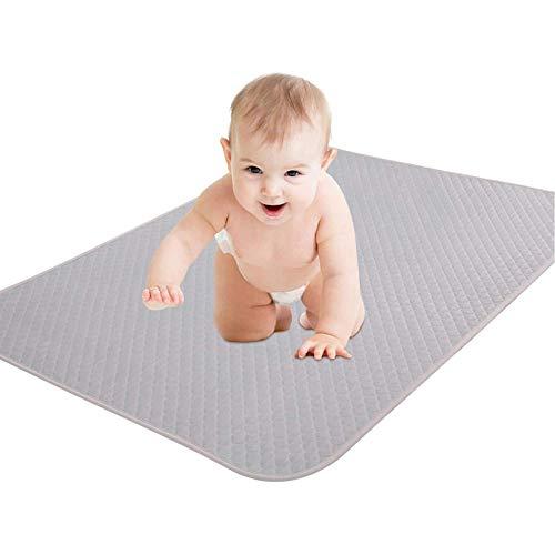 KEAFOLS Cubrecolchón Impermeable Bebé 70x140/ 70x100/ 75x90 cm Protector de Colchón Impermeable Incontinencia para Cuna Niños Adultos Mascotas