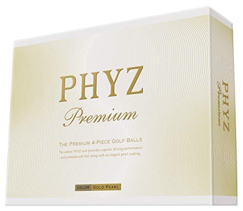Bridgestone PHYZ premium GOLD PEARL 2014 model 1 dozen