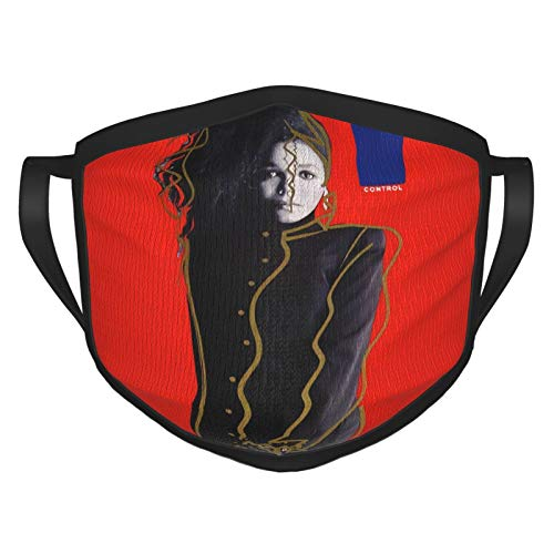Janet Jackson Black Border Masks,Outdoor Bandanas,Mouth Guard,Balaclava,Dustproof Scarf,Face Cover,Neck Gaiter
