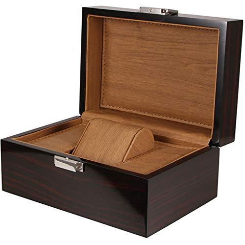 CMX-Uhrenbox für Einzelne hölzerne Uhr Box abnehmbare Matte Herren Geschenkbox Damen Geburtstag Valentinstag Vatertag