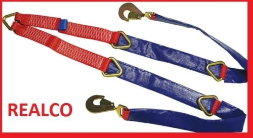 Fixed Winch Brother Straps for Recovery Vehicles