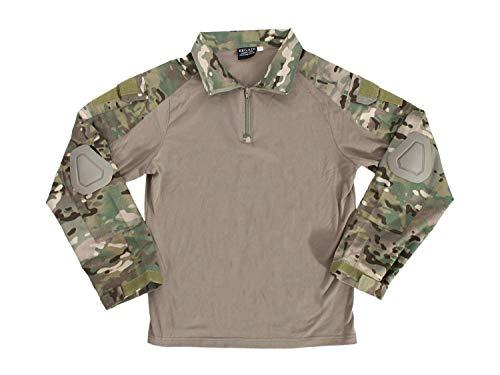 BEGADI Basics Combat Pants/Hose, mit 10 Taschen & abnehmbaren Knieschonern - multiterrain M