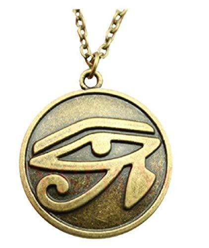 Inception Pro Infinite Collana con Ciondolo - Simbolo - Occhio di ra - Egizio - Horus - Catena - Egitto - Egiziani