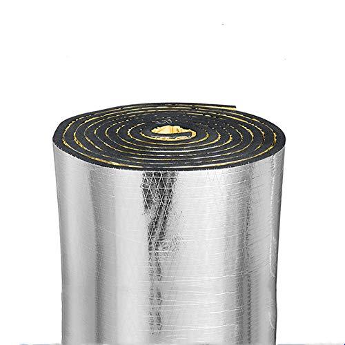 Silent Coat Isolator 10 Mm Schalldämmungspad Aluminium Folie ? Auto Schalldämmende Isolierung Geschlossenzelliger Schaumstoff, Merhfarbig (100cmx120cm)
