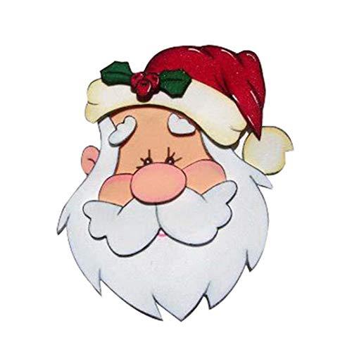 P12cheng Fustelle Metallo Stenci,Natale Babbo Natale Die Cuts Stampino per Fai da Te Scrapbooking Carte di Carta Craft Emboss Diserbo Xmas Card Decorazioni Artigianali