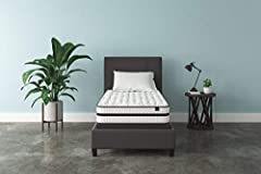 TWIN SIZE BED IN A BOX. For supportive, dreamy sleeping, this mattress brings it home with comfortable layers. Plus, it comes in a box, so it's easier than ever to get a better night's rest HYBRID MATTRESS. Mattress is designed with gel memory foam a...