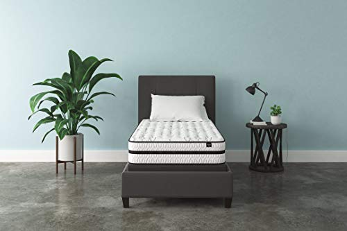 Signature Design by Ashley - 10 Inch Chime Express Hybrid Innerspring - Firm Mattress - Bed in a Box - Twin - White