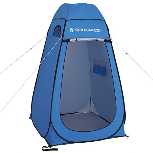 SONGMICS Portable Pop Up Tent, Privacy Shelter Toilet Changing Shower Room