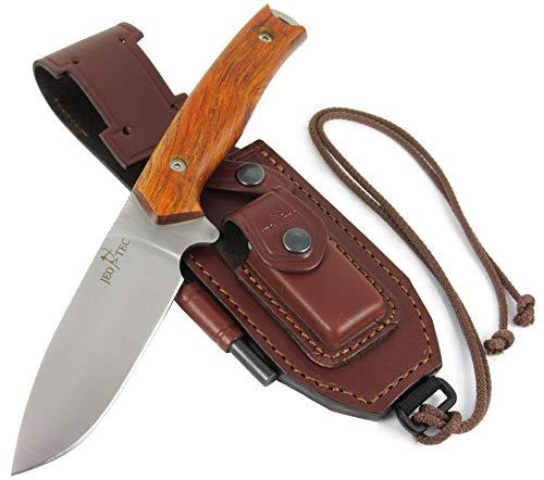 JEO-TEC Nº21: Couteau de Camping Outdoor Survie...