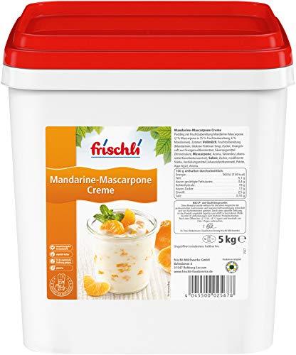 Frischli Mandarine-Mascarpone Creme ein einzigartiges Dessert-Highlight 5000g