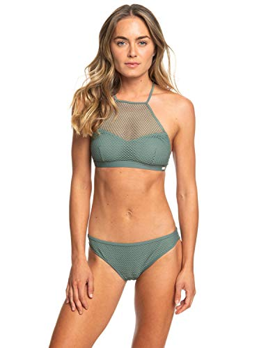 Roxy Garden Summers - Crop Top Bikini Set for Women - Frauen