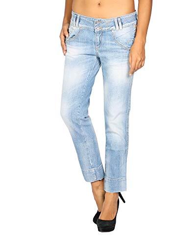MELTIN'POT - Damen Jeans ILYAN - Länge 26 - blau, W28