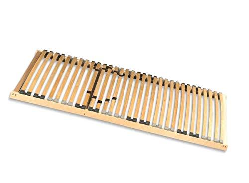 Coemo Lattenrost extralang Basic 80x220 cm Überlänge starr Nicht verstellbar Härtegradeinstellung Selbstmontage