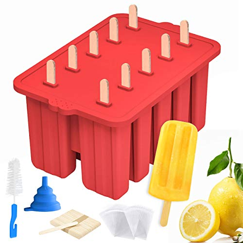 Silicone Popsicle Molds Maker,Large Homemade ICE...