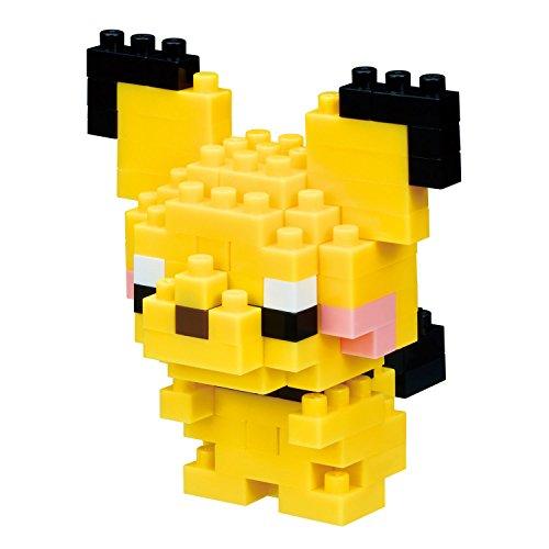 nanoblock Pokemon Pichu Building Kit, Yellow