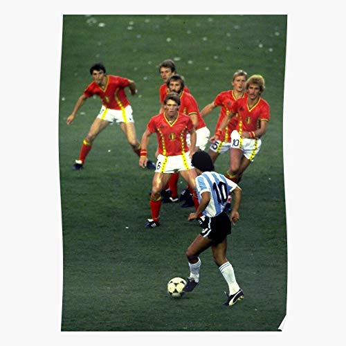 Argentina Maradona Belgium Hand Mexico Diego God 86 Of Home Decor Wall Art Print Poster !
