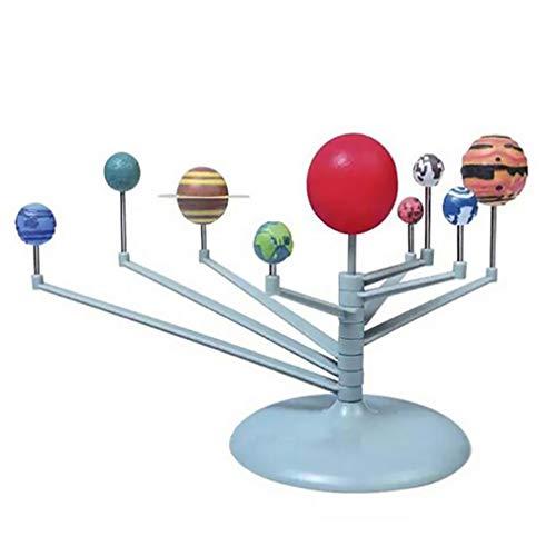 Honel 科学 教育おもちゃ ソーラーシステム 天文学プラネット 太陽系 モデル 模型 DIY 天体 プラネタリウム 組み立て