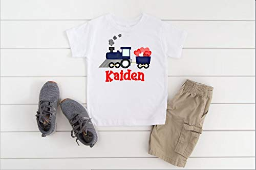 Personazlied Boy's Valentines day t-shirt Cheap super special price shir Save money - Boys