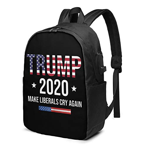 Pin on Trump 2020 Laptop Backpack with USB Charging Port, Business Bag, Bookbag   Fits Most 17 Inch Laptops and Tablets