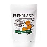 ふくちゃ ブレンドラボ フレーバーティー 岡山緑茶 30包 (温州みかん)