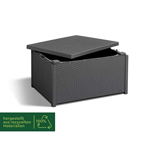Allibert Tisch Arica | Gartenbox | Aufbewahrungsbox | Grau - 3