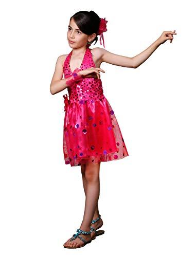 Matissa Kinder Pailletten Dans Jurk Meisjes Ballet Rok Dans met Mesh Tutu