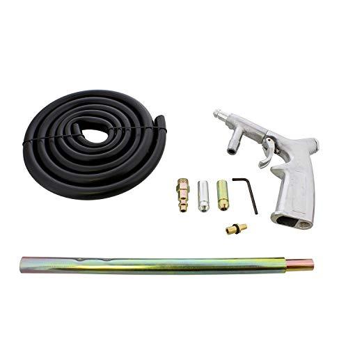 ABN Sandblaster Gun Kit – 7 Piece Pressure Washer Sandblasting Kit – Handheld Portable Sandblaster Kit