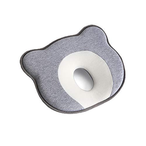 Refaa Almohadas Transpirables para bebés Espuma viscoelástica Lavable en Forma de Panal contra Almohadas de Cabeza Plana Durante 6-36 Meses