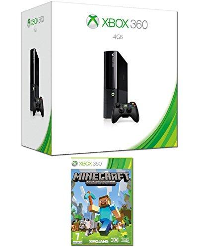 Xbox 360 - 4 GB Console With Wireless Controller + Minecraft [Importación Inglesa]