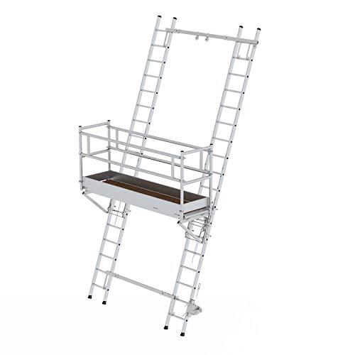 Aluminium-Leiterbühne, Bühnenlänge 2,45