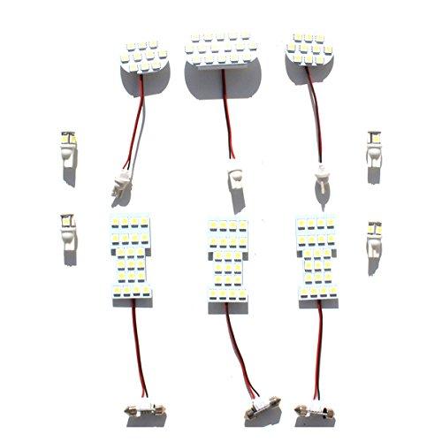 日産 セレナ C26 LEDルームランプ ホワイト 3chip SMD LED ポジション ナンバー